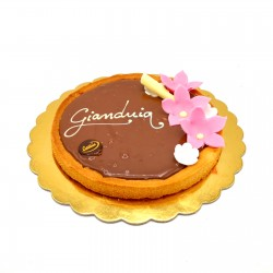 Crostata al Gianduja